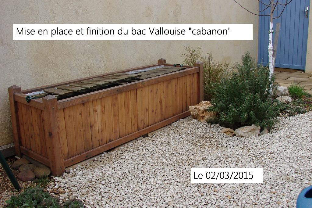 Réparation du Bac Mélèze «cabanon»