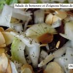 ²Salade de betterave condimentée aux oignons blancs de Vaugirard 06-06-2015