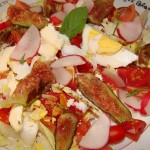 Salade DZprod Tomate Basiilic et Figue 26-06-2015