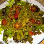 Salade Haricot et tomate cerise