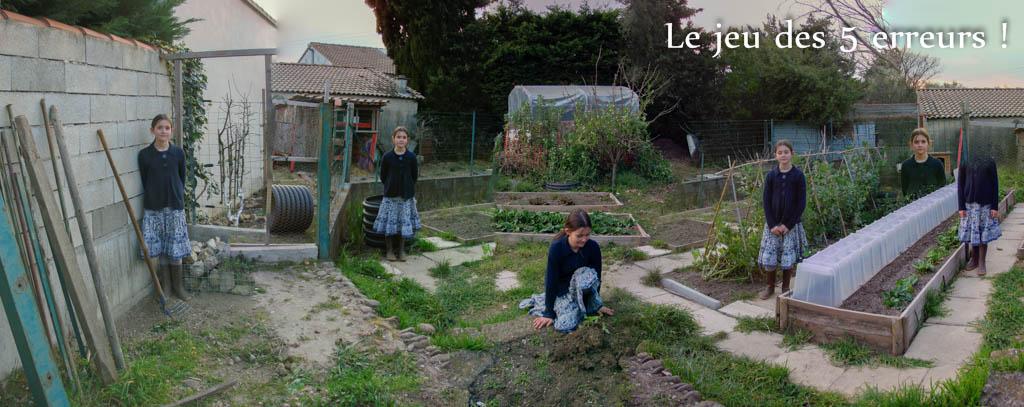 Le Jeu des 5 erreurs Loucastarelet - 15 mars 2016