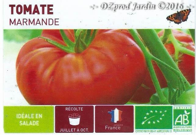 Tomate Marmande - DZprod Jardin
