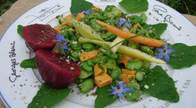 Quelques feuilles d'épinards dans la salade : Un délice !