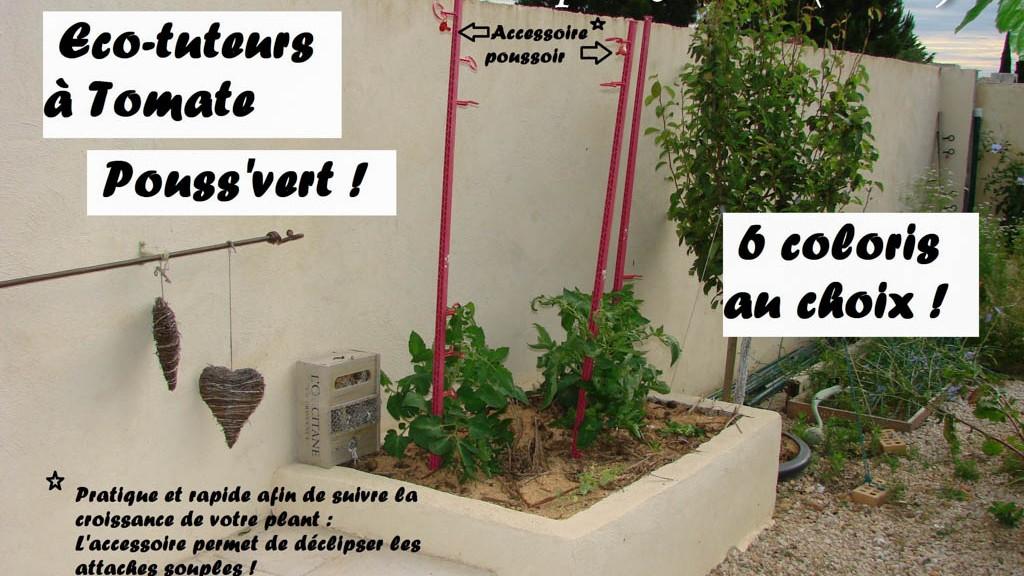 Tuteur tomate 6 coloris - DZprod Jardin - 21 juin 2016