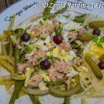 Salade haricot et céléri rave lacto-fermenté - DZprod Jardin - 15 juillet 2016