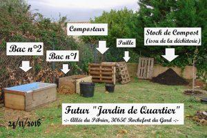 Jardin de quartier au 24-11-2016 - DZprod Jardin