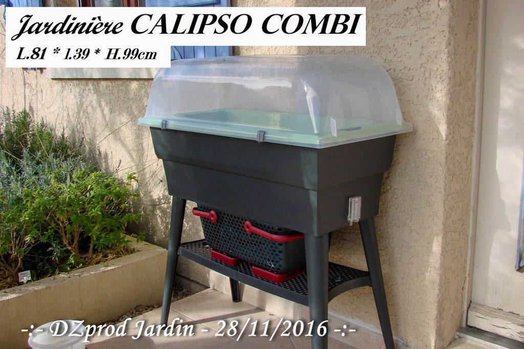 Jardinière calipso combi - DZprod Jardin - 19 novembre 2016