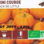 Mini courge jack be little - botanic® - dzprod jardin