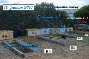 Travaux jardin de quartier au 10 janvier 2017