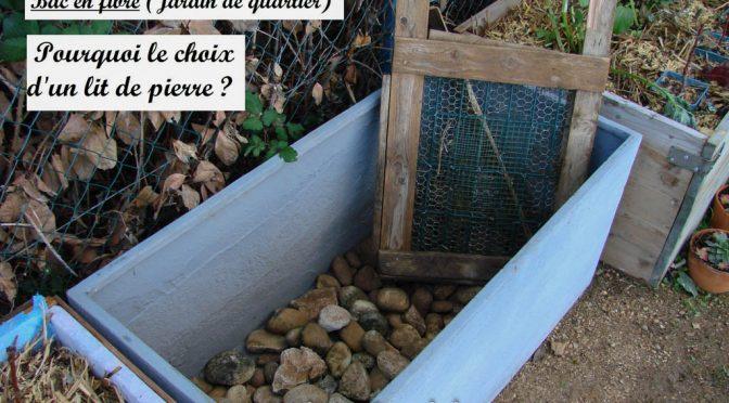 Drainage : galets ou billes d'argile ?