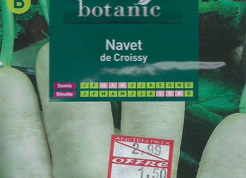Navet de Croissy
