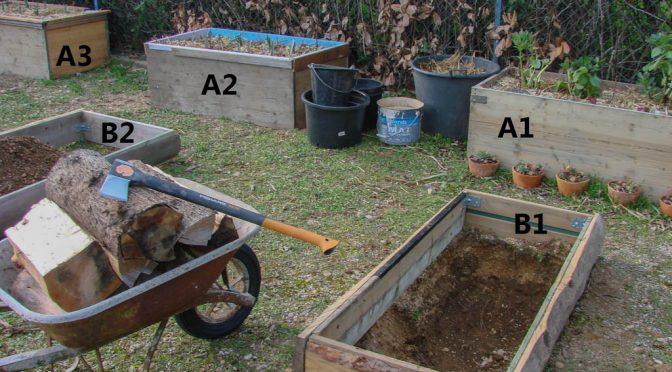 Excavation puis Remplissage des bacs bas (Série B)