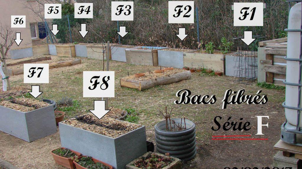 Bacs fibrés - Série F - jardin de quartier - Association JARRE à Rochefort du Gard - 02-02-2017