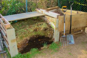 Composteur en maturation - Asso la JARRE et DZprod Jardin
