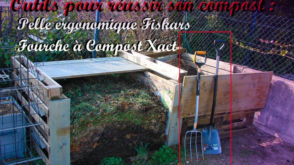 Fourche à compost Xact et pelle ergonomique FISKARS en prêt - Les ...
