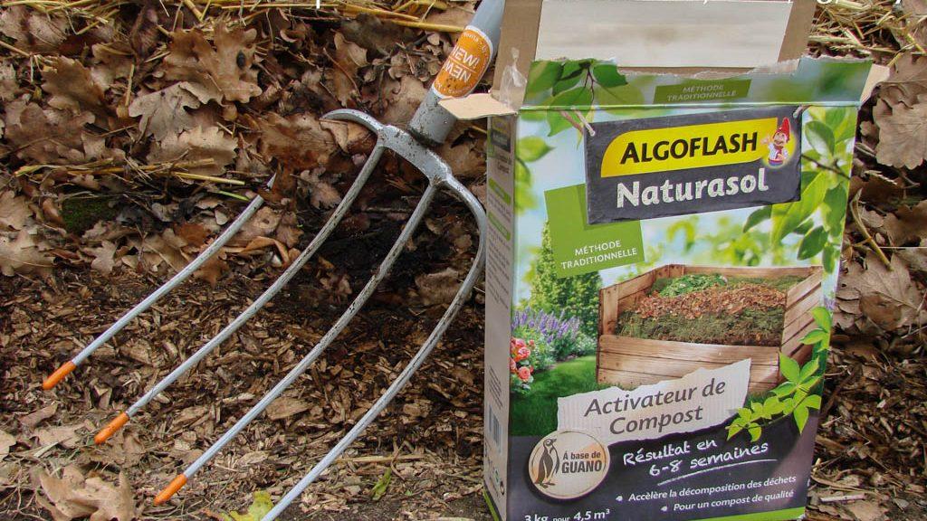 Activateur de compost - Algoflash Naturasol - DZprod Jardin