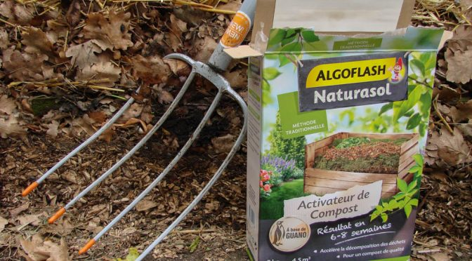 Test d'un Activateur de compost – Algoflash Naturasol