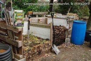 Mélange pile 2 dans pile 1 - Activateur de compost - 01-03-2017