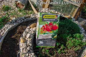 Test engrais Tomate (laine de mouton) Algoflash Naturasol - DZprod Jardin - 16 mars 2017