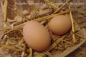 oeuf de pâques - 85g - poulailler partagé - La JARRE - 16-04-2017