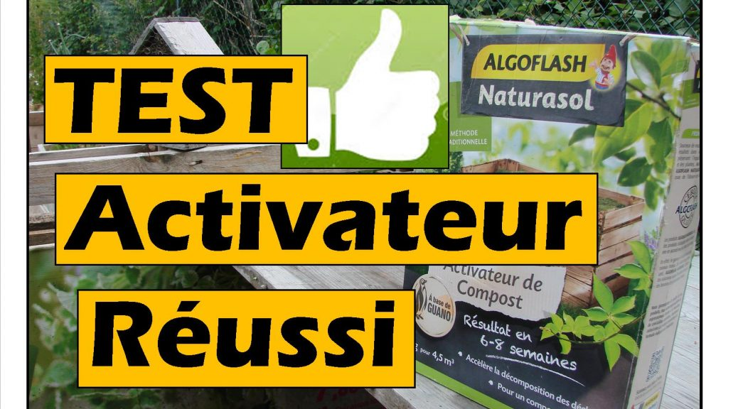 Test Activateur compost réussi