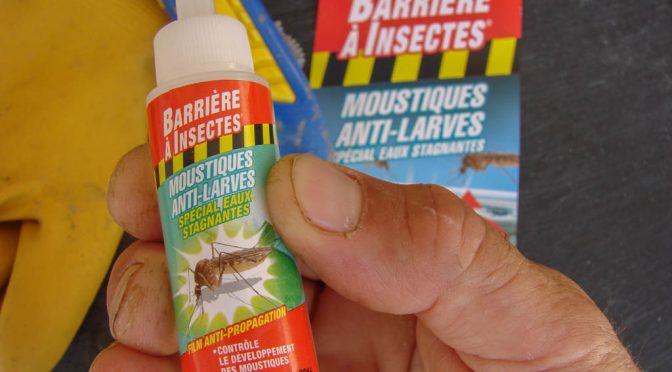 Produit moustique anti larves – test Barrière à insectes – COMPO France SAS