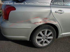 Dégats _ Accident Scotto_Provence