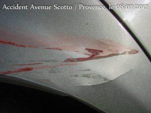 Dégâts dessus de roue_ Accident Scotto_Provence
