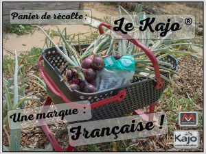 Le Kajo - un panier de récolte de marque Française - MV Industrie