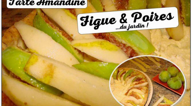 Tarte poire williams et figues Amandine : Atelier cuisine