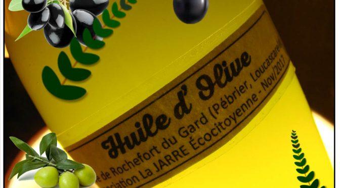Production huile d'olive Bio de Rochefort du Gard