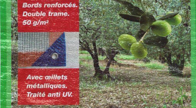 rentabilité d'un filet de récolte des olives à 25€