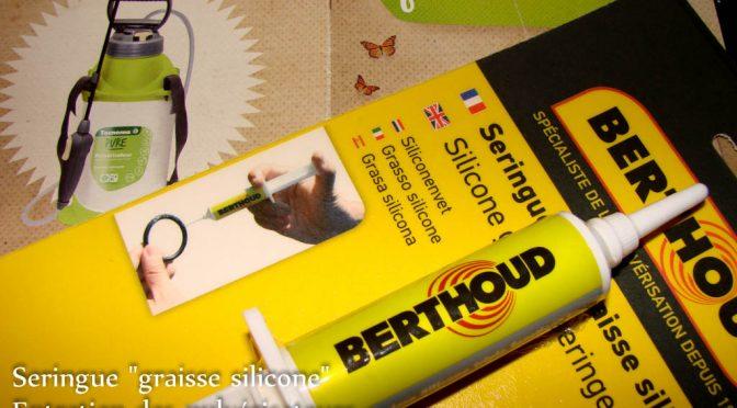 Graisse silicone BERTHOUD – Entretien des pulvérisateurs à usage domestique