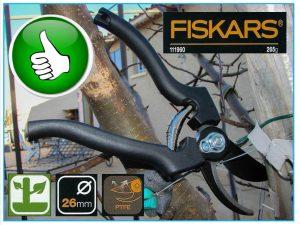 Sécateur P90 Fiskars - ref 111967 - DZprod Jardin