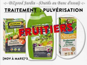 Traitement hiver fruitier - Algoflash Naturasol - DZprod Jardin