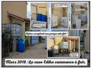 Cuve Édika à améliorer - 19-04-2018