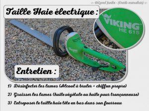 Taille haie électrique Vicking HE 615 - outils en prêt - dzprod Jardin