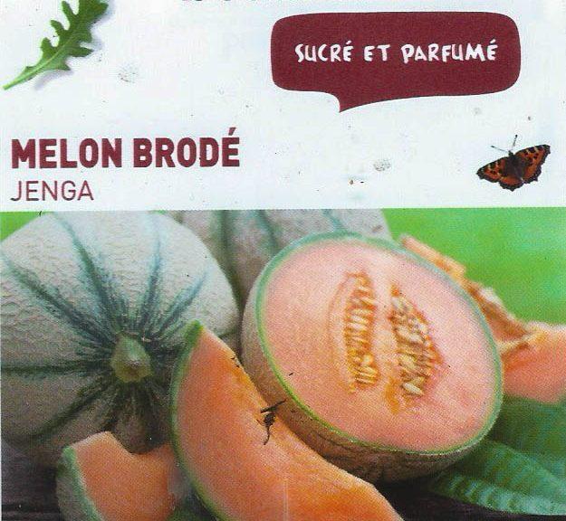 Melon brodé Jenga - botanic® - dzprod Jardin