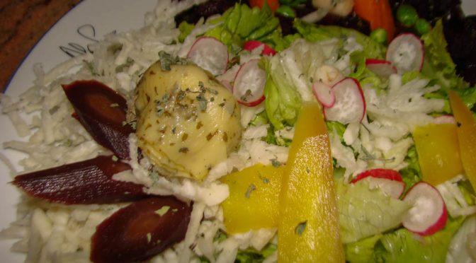 Salade de crudité – Salade colorée