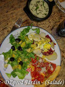 Salade et lactofermentation 100 pour cent du jardin - dzprod salade