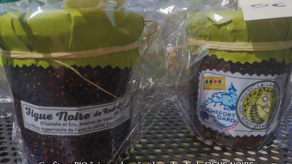 Confiture de figue noire de Rochefort du Gard