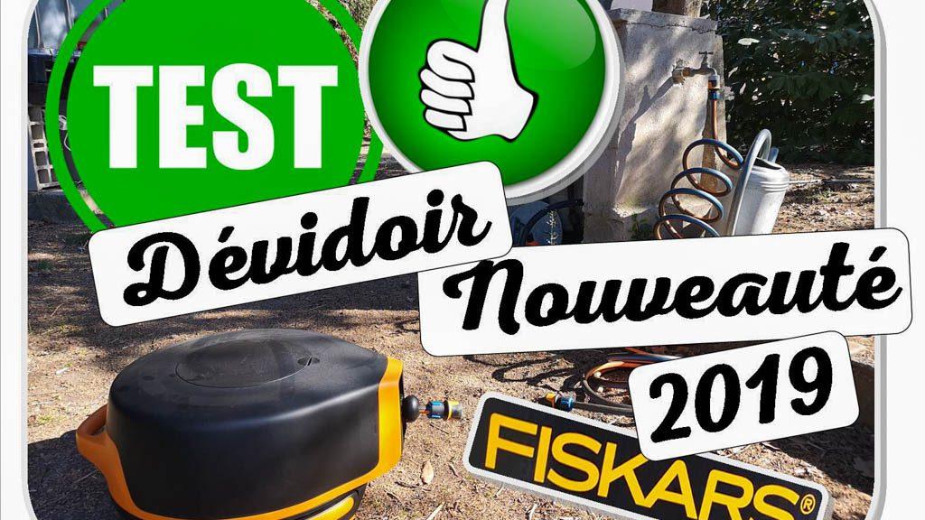 Dévidoir de jardin - arrosage facile - nouveauté 2019 - Fiskars - Test DZprod Jardin