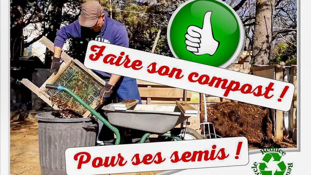 Faire son compost pour faire ses semis - DZprod Jardin