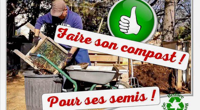 Faire son compost pour faire ses semis !