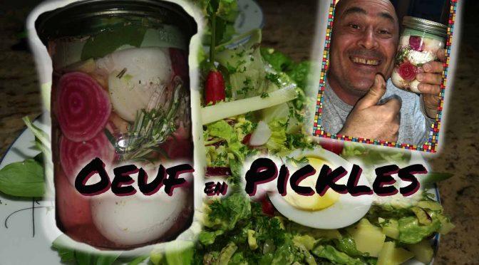 que faire quand on a trop d'œufs ? Recette œufs pickles !