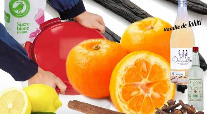 Vin d'orange bigarade (Notes et recette)